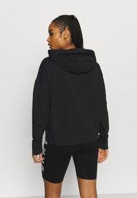 DKNY - TWO TONE LOGO HOODIE - Sweatshirt - black - 2