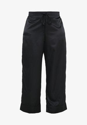 PLUS PAJAMA BOTTOM - Pyjama bottoms - black