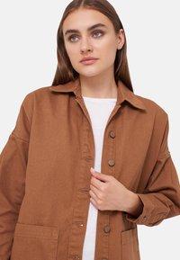 LC Waikiki - Denim jacket - brown - 4