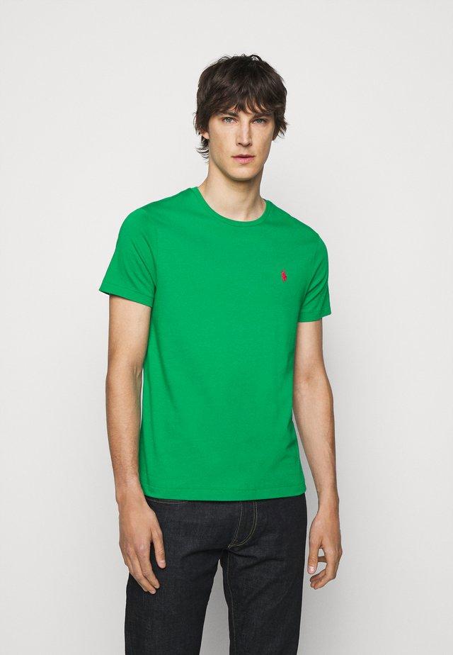 SHORT SLEEVE - Basic T-shirt - scarab green