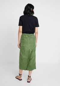 Free People - ECHO SKIRT - Pencil skirt - moss - 2