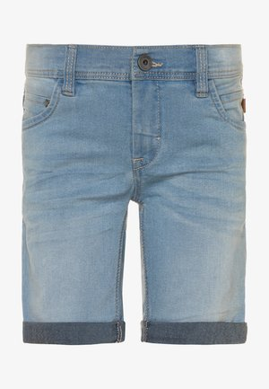 NKMSOFUS  - Jeansshort - light blue denim