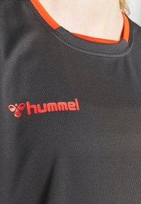 Hummel - HMLAUTHENTIC  - Printtipaita - asphalt - 5