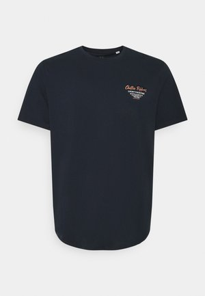 JORHUNGRY TEE CREW NECK  - Print T-shirt - navy blazer