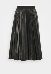 MAX&Co. - FLAVIANA - Pleated skirt - black - 0