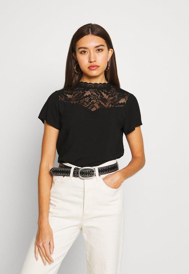 ONLFIRST TOP  - T-shirt basic - black