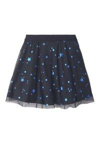 TOM TAILOR - RÖCKE TÜLLROCK MIT STERN-MUSTER - A-line skirt - night sky|blue - 1