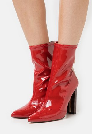 Bottines - red