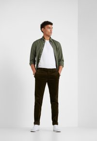 Polo Ralph Lauren - SLIM FIT - Hemd - defender green - 1