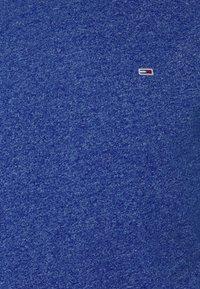 Tommy Jeans - SLIM JASPE C NECK - Jednoduché triko - blue - 6