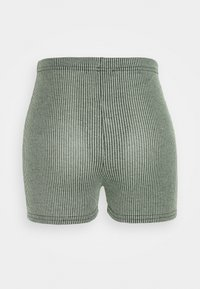 Missguided Tall - TWO TONE CROSS BACK STRAP CROP AND CYCLING - Shorts - mint - 4