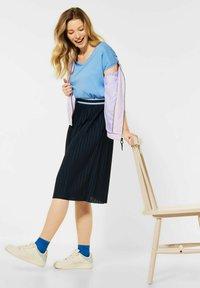 Cecil - A-line skirt - blau - 2
