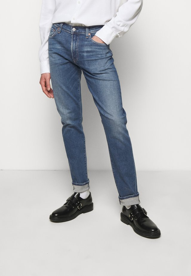 LONDON - Straight leg jeans - deep lake