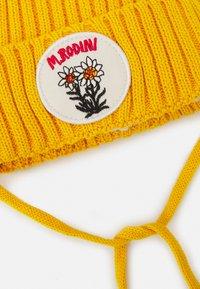 Mini Rodini - EDELWEISS POMPOM HAT UNISEX - Beanie - yellow - 2