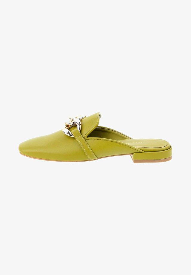 Clogs - zielony