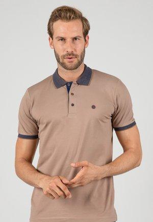 SHORT SLEEVE - Poloshirts - brown