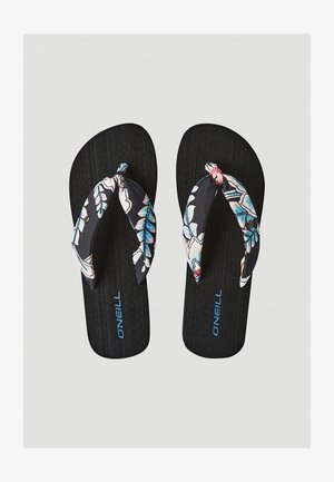 DITSY SUN - Teensandalen - black with red