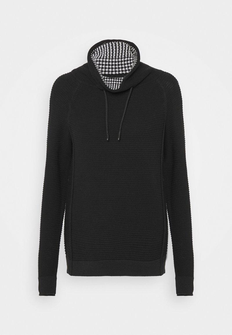 edc by Esprit - TUNNEL NECK - Jumper - black