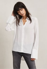 Hunkydory - FORD - Button-down blouse - off-white aop - 2