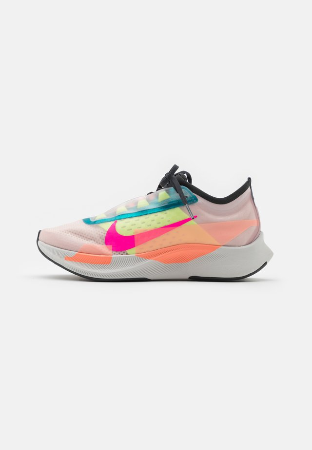 ZOOM FLY 3 PRM - Obuwie do biegania startowe - barely rose/pink blast/atomic pink