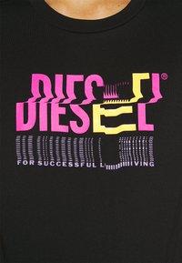 Diesel - T-SILY-K6 - Print T-shirt - black - 4