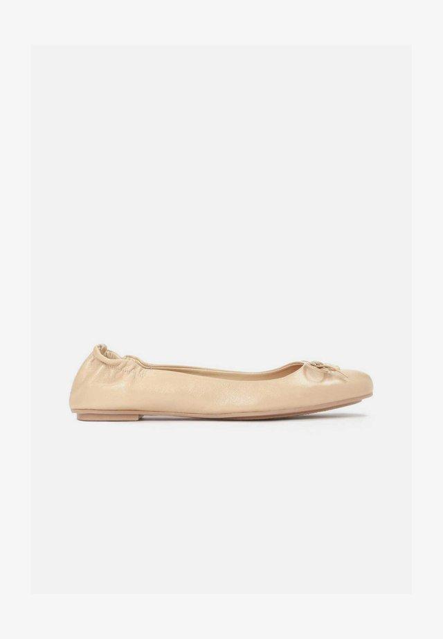 KATIE - Ballerina's - light brown
