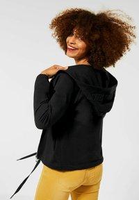 Street One - Zip-up sweatshirt - schwarz - 1