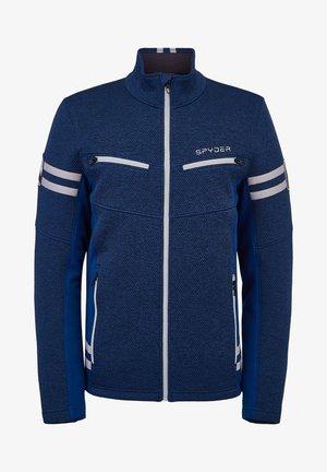 WENGEN ENCORE - Fleece jacket - dunkelblau