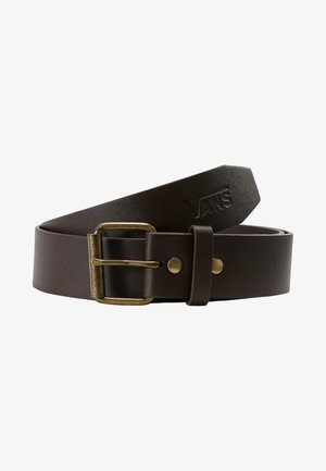 MN HUNTER II PU BELT - Skärp - dark brown