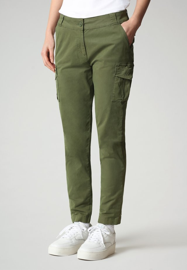 Pantalon cargo - green cypress