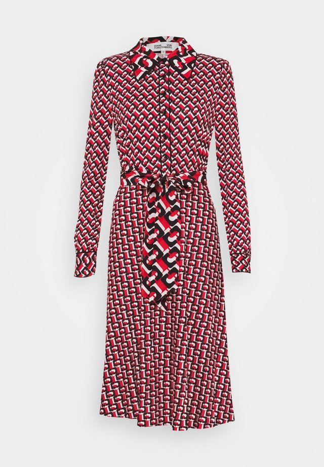 MILLY DRESS - Blousejurk - red