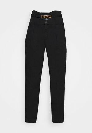 ARIEL  - Spodnie materiałowe - black