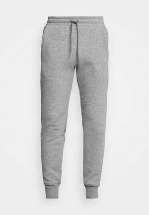MODERN BASICS PANTS - Pantaloni sportivi - medium gray heather