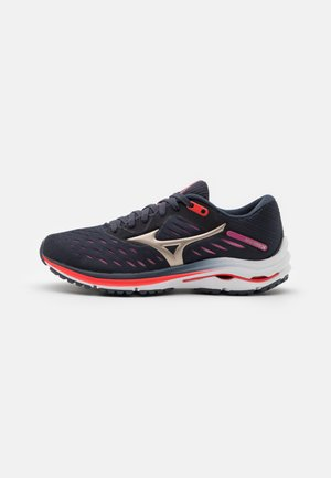 WAVE RIDER 24 - Neutral running shoes - india ink/platinum gold/ignition red