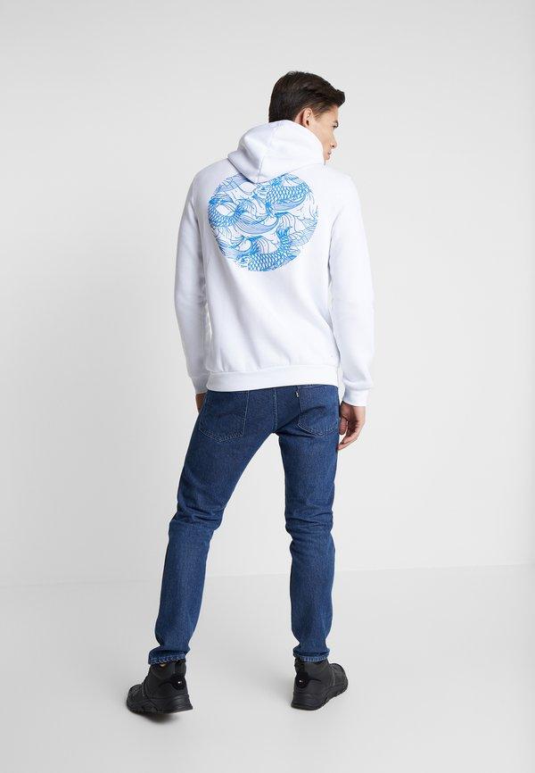 Pier One Bluza z kapturem - white/biały Odzież Męska CMSN