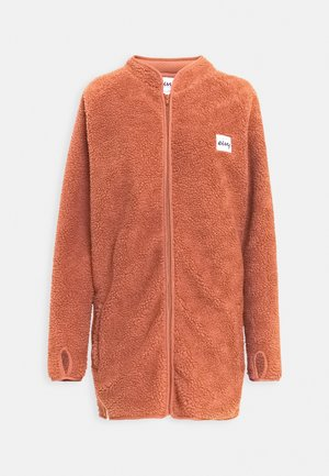 REDWOOD SHERPA COAT - Fleecejakker - brown