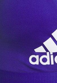 adidas Performance - ALL ME BR DESIGNED4TRAINING AEROREADY COMPRESSION - Brassières de sport à maintien léger - semi night flash - 2