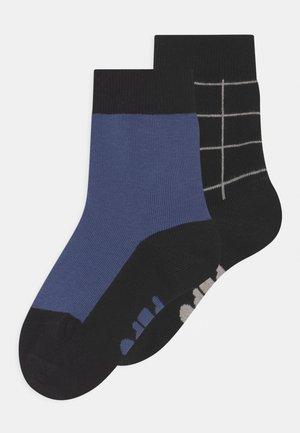 TINY GRID 2 PACK UNISEX - Socks - dove blue