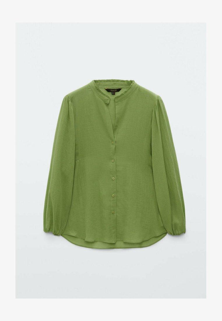 Massimo Dutti - Skjortebluser - evergreen