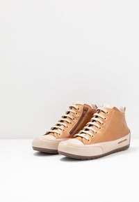 Candice Cooper - MID - Sneakers high - brunette/sabbia - 4