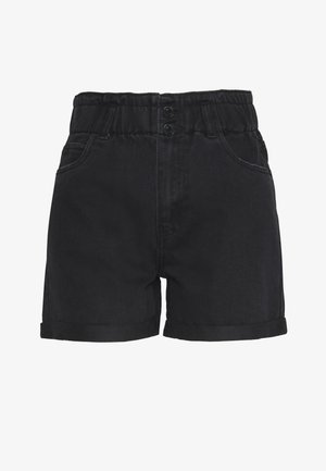 VMJOANA  - Denim shorts - black