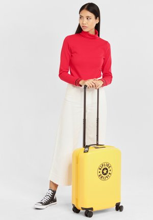 Wheeled suitcase - vivid yellow nc