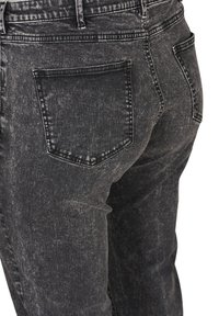 Zizzi - WITH A HIGH WAIST - Slim fit jeans - black - 4