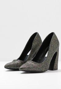 Even&Odd - Zapatos altos - black/multicoloured - 4