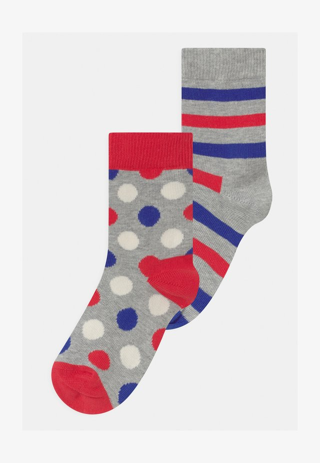 EXCLUSIVE FRENCH COLOLUR 2 PACK UNISEX - Socks - multi