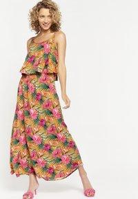 LolaLiza - TROPICAL - Maxi dress - yellow - 1