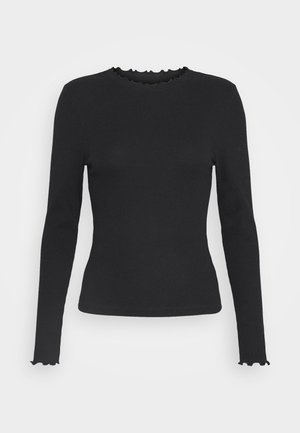 BABYLOCK TEE - Long sleeved top - black/white
