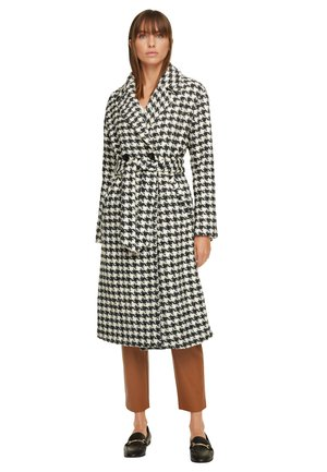 MIT PEPITA-MUSTER - Classic coat - anthracite houndstooth