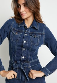 Pepe Jeans - DUA LIPA X PEPE JEANS - Jumpsuit - blue denim - 0
