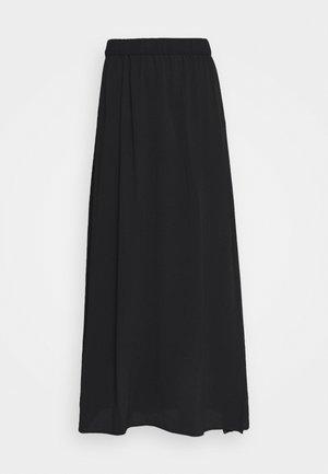 VMSAGA SLIT SKIRT  - A-line skirt - black